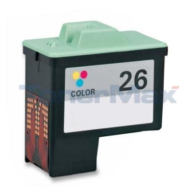 LEXMARK NO 26 PRINT CARTRIDGE COLOR